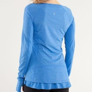 Lululemon Run: In The Sun Long Sleeve size 6
